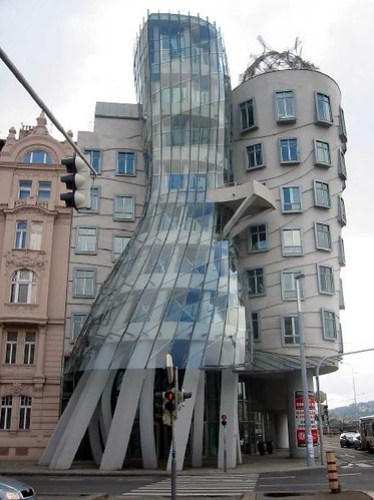 Frank Gehry's Dancing House - Prague
