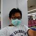 在日本機場全程口罩