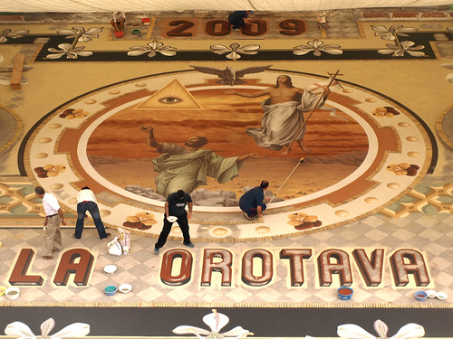 The Centrepiece of the Sand Tapestry 2009