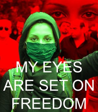 My Eyes Are Set On Freedom #Iranelection by harrystaub