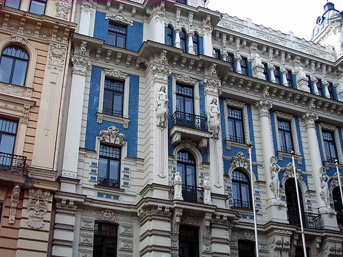 Art Nouveau House in Riga. Photo: Ulla Hennig
