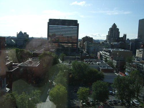 Montreal from the 11th floor