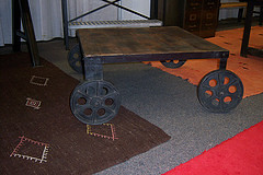 the estate of things chooses cart table