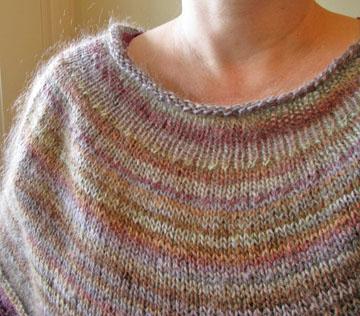 Knit Round Scarf (2)