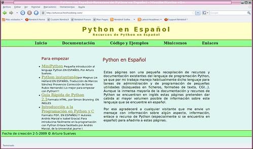 recursos de python en español