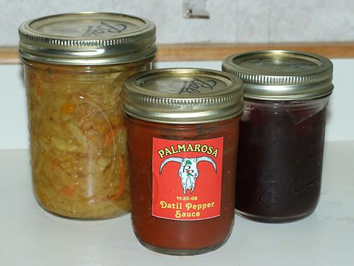 Palmarosa-Jars