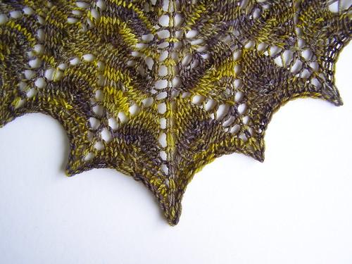 julie's wedding shawl