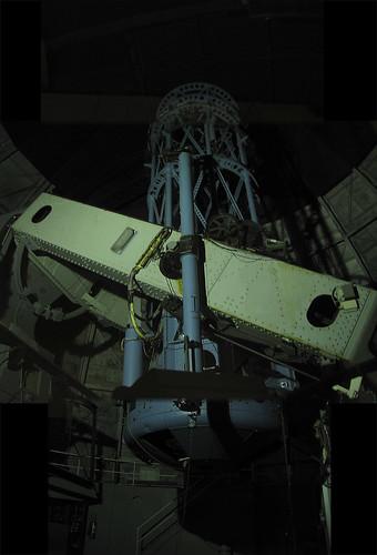 100 inch telescope photomerge