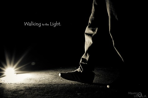 Walking to the Light.