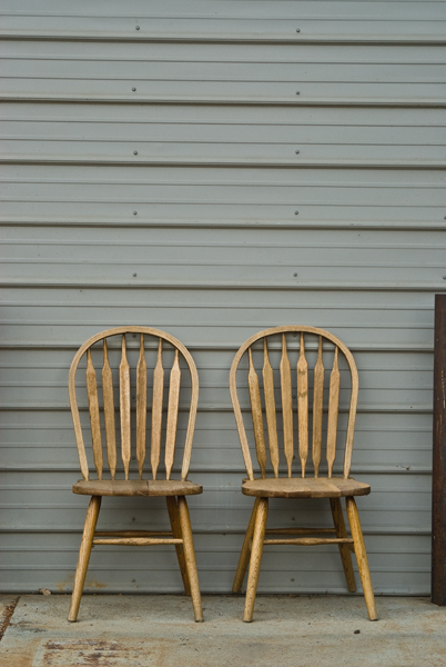 blue star chairs
