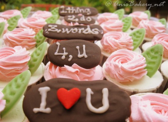 annivesary cupcakes