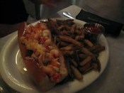 neptune oyster - lobster roll