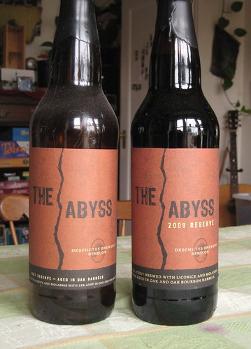 2007 and 2009 Abyss bottles