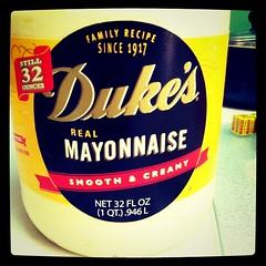 Only Duke's for Tomato Pie.