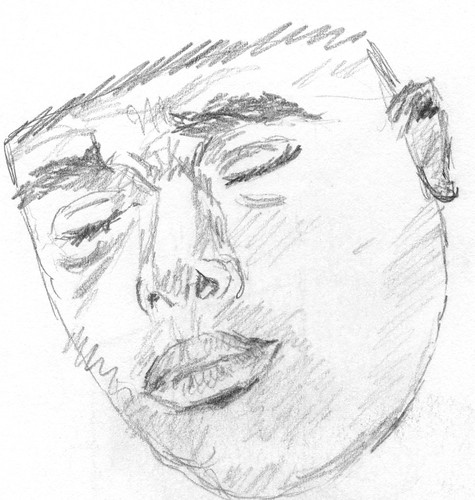 Drawing Unknown Faces, part 167, sketch 1