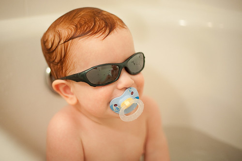 Cool Dude in the Bathtub