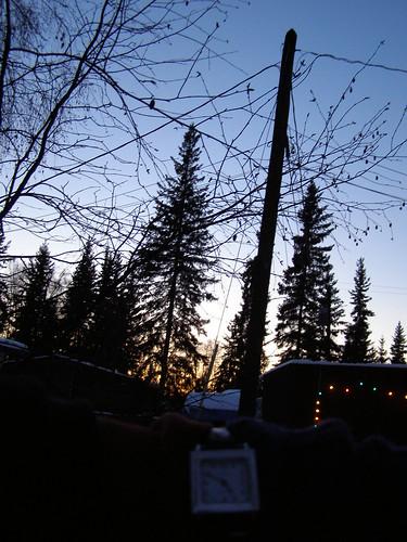 5 pm sunset