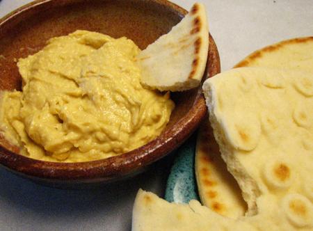 Home-made hummus!