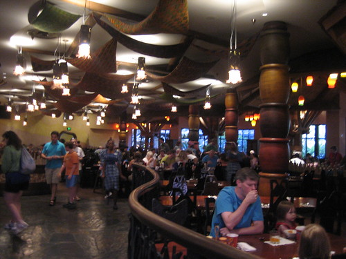 Boma Restaurant in Animal Kingdom Lodge