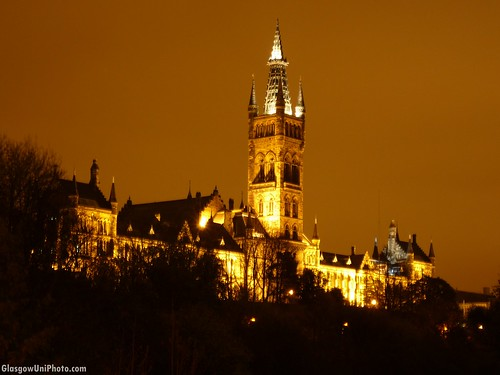 University of Glasgow at Night