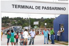 Terminal de Ônibus de Passarinho. Foto: Passarinho/Pref.Olinda