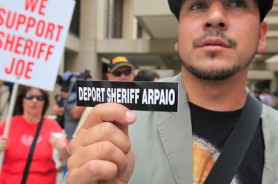 Arpaio has been a controversial figure in Phoenix and in the immigration debate.