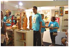 Estande de Olinda na 10ª Fenearte - Feira Nacional de Negócios do Artesanato, realizada no Centro de Convenções.