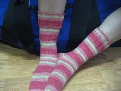 FO: in between socks