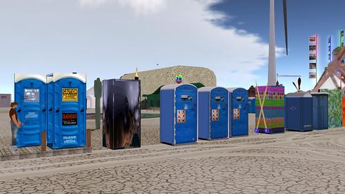 Burning Life 2009: Porta-Potties