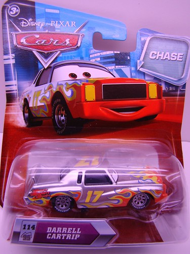 Disney CARS Chase Ransberg Darrell Cartrip (1)