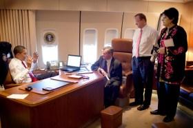 Obama, Meacham, Gibbs, Haddad in