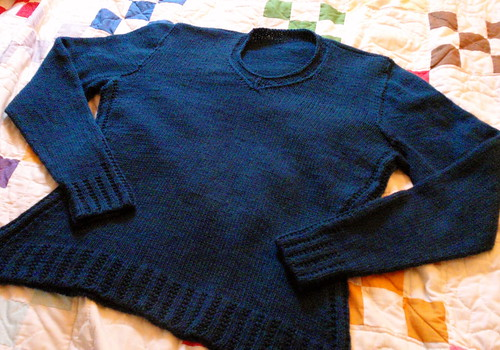 C's sweater, all done.