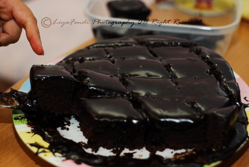 Moist Choc Cake Kak Suhaila 2