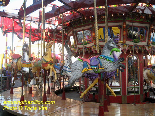 Butler Amusements Carousel in Coney Island. Photo © Tricia Vita/me-myself-i via flickr