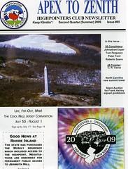 Apex to Zenith Volume 85 Second Quarter 2009
