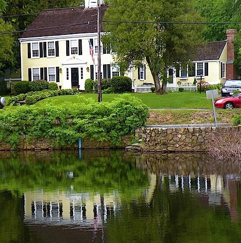 The Yellow Houses Of Cape Cod Linda Merrill