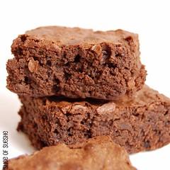 """""""baked"""" brownie"""