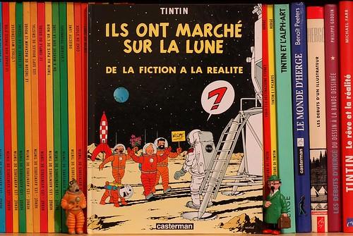 Tintin Luna Apollo - photo Goria - click per ingradimenti e dettagli