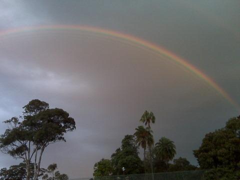 Sydney - Rainbow near CQ