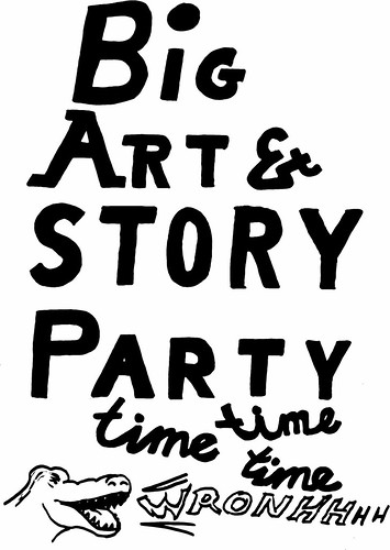 Big Art & Story Party Time