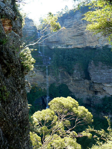 Katoomba Falls from the Furber Steps Track