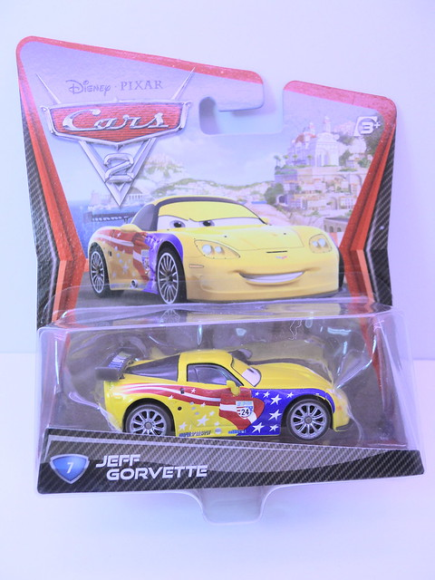 disney cars 2 jeff gorvette