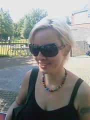 Kara in Kensington Gardens