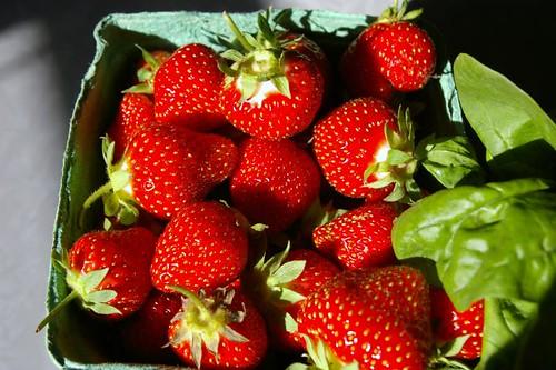 Pretty strawberries