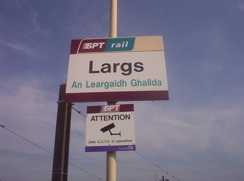 Stèisean rèile na Leargaidh Gallda