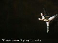 Aerial Dance NCAA 85 Opening