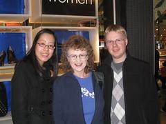 Sharon, Mom, Mack