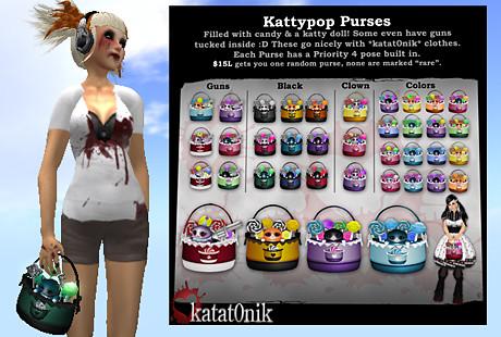 Katat0nik's Kattypop Purses