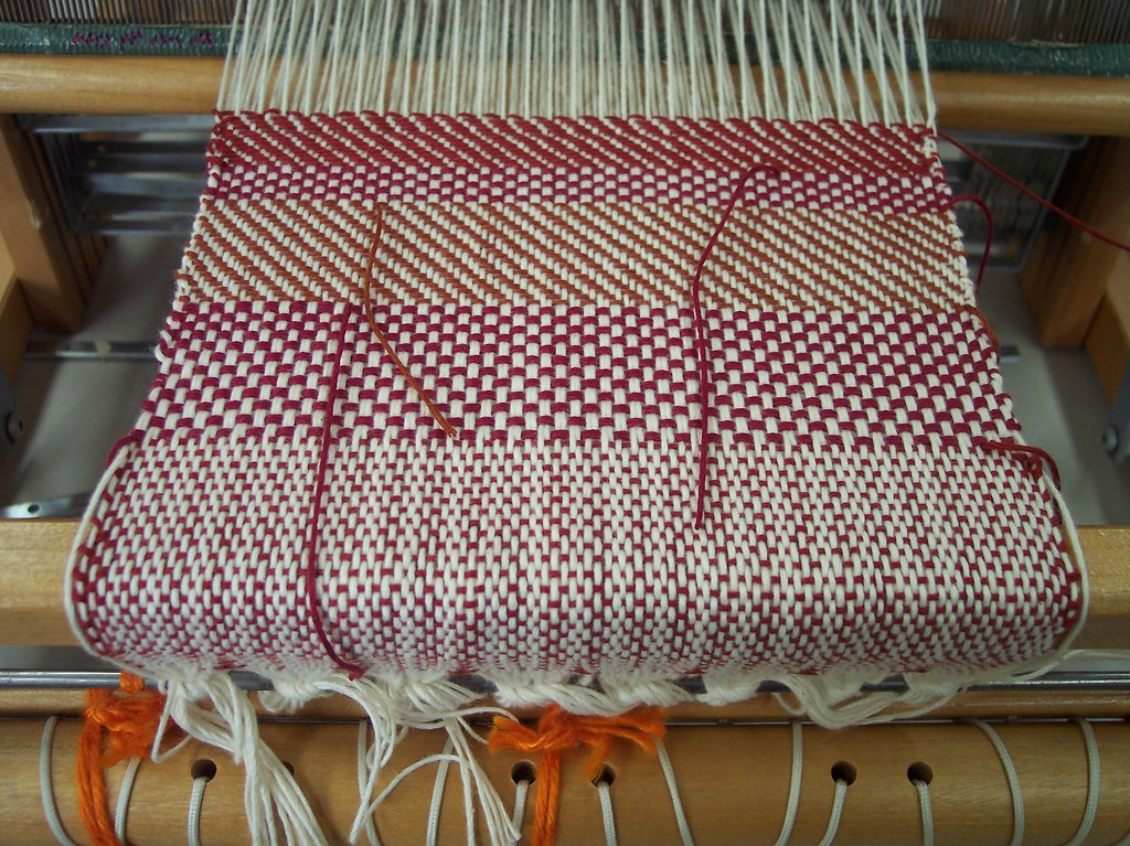 weaving / weben