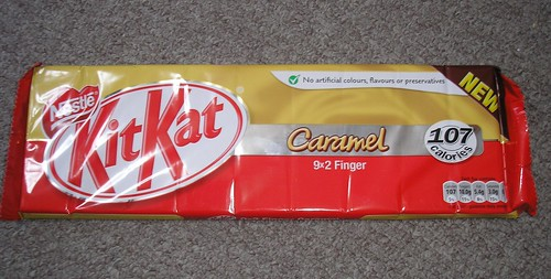 Caramel Kit Kats (UK)